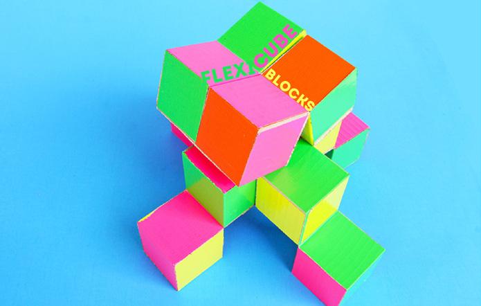 Simple DIY Toy: Flexicube Blocks