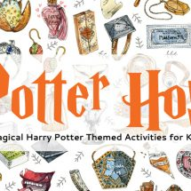 10+ Magical Harry Potter Activities for Kids