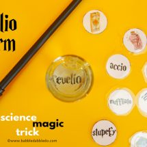 Revelio Charm: A Science Magic Trick for Kids