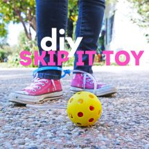 Homemade Toy Idea: DIY Skip-It