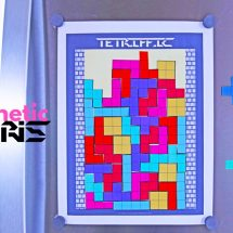 TETRIFIC: A Printable Magnetic Tetris Puzzle for Kids