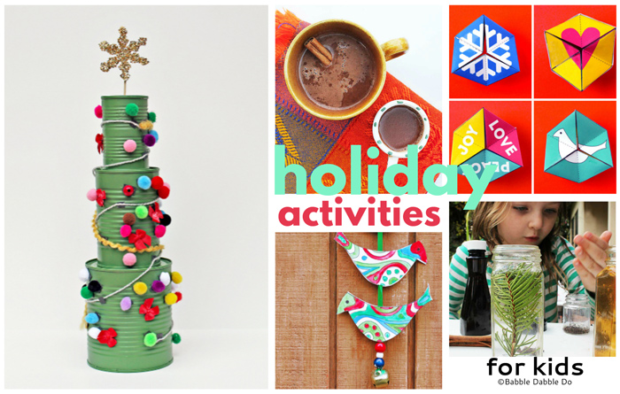 Holiday and Christmas activities are a wonderful way to celebrate the season with your kids.