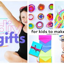Kids Make the Best Presents! 12 DIY Gifts to Make