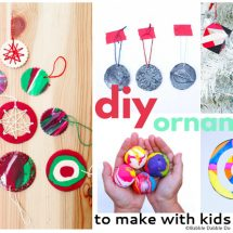 Clever DIY Ornaments to Make with Your Kids