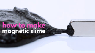 The Creepiest Slime Ever: How to Make Magnetic Slime