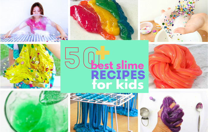 50 of the Best Slime Recipes for Kids