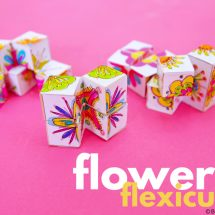 Flower Flexicubes: An incredible DIY flower puzzle that will blow your mind!