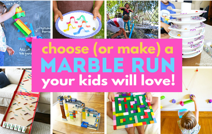 How to choose (or make) a marble run your kids will love!