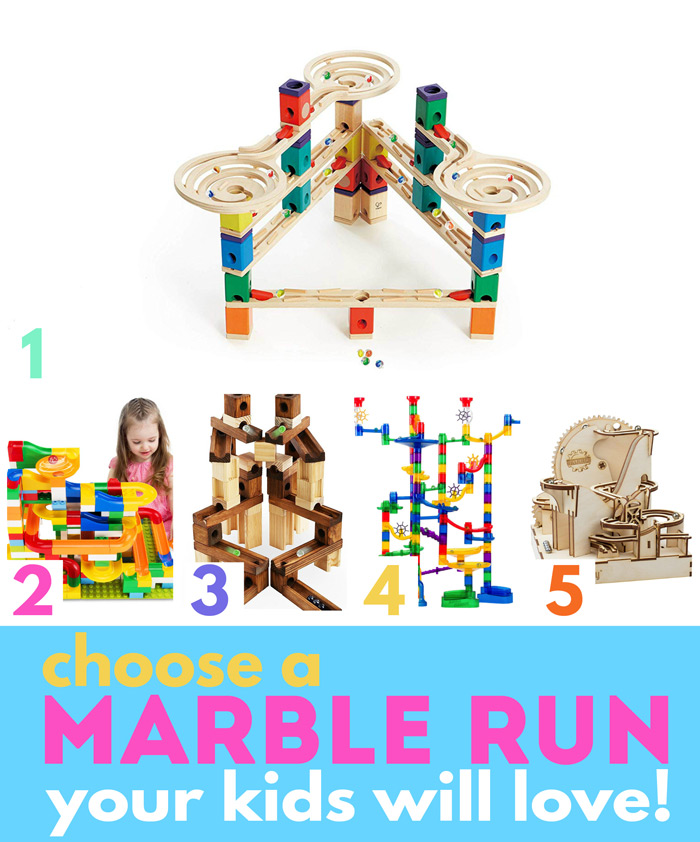 How to choose (or make) a marble run your kids will love