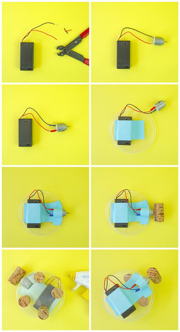 This easy electronics project for kids is the perfect STEAM activity.Here are the steps for making your own Boogie Bot!