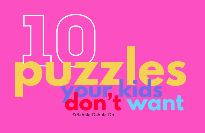 No One Asks for These: 10 of the Best Puzzles for Kids