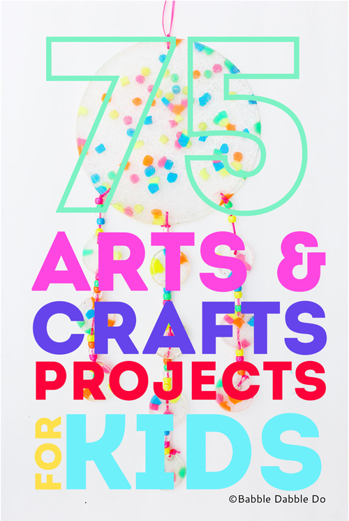 75 of the Best Arts and Crafts Projects. From classic to quirky, there's something for everyone on this massive list of arts and crafts projects for kids!