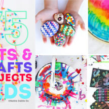 75 of the Best Arts and Crafts Projects for Kids