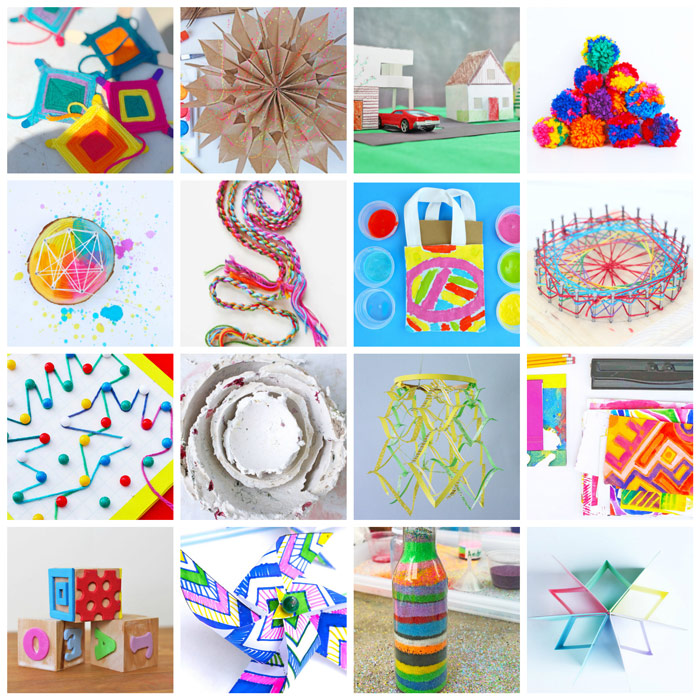 75 of the Best Arts and Crafts Projects. Classic Craft Projects for Kids
