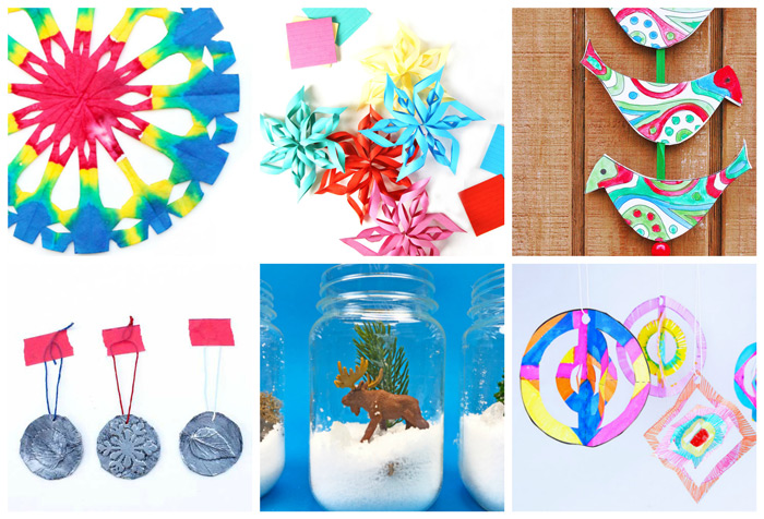 75 of the Best Arts and Crafts Projects. Holiday Craft Projects for Kids