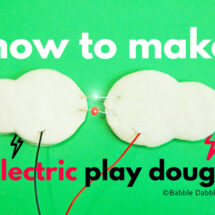 How to Make Electric Play Dough with Kids