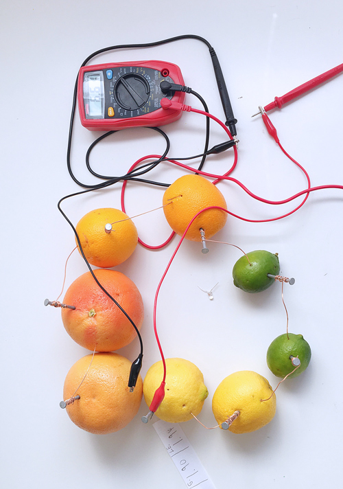 One of the most classic science fair projects you can do is learn how to make a lemon battery. It's incredible way to use chemistry to generate an electric current!
