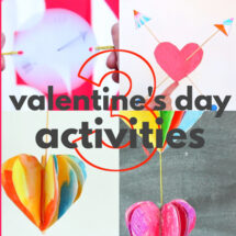 3 Easy Printable Valentine's Day Activities for Kids