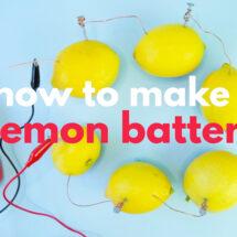 How to Make a Lemon Battery and a Lime Light