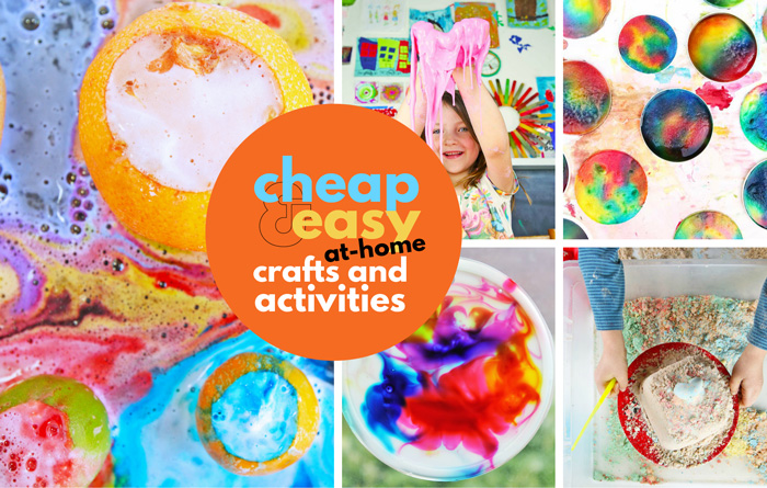 Cheap & Easy Crafts for Kids