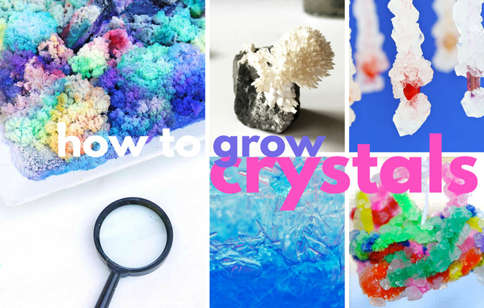 Learn how to grow crystals at home or in the classroom with these easy methods! We'll also cover more advanced crystal growing methods to try.
