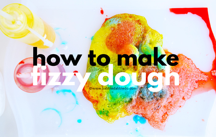 Fizzy dough is a fun sensory dough with a scientific twist! It feels cold to the touch so it is perfect for mimicking snow and it fizzes when it comes into contact with vinegar!