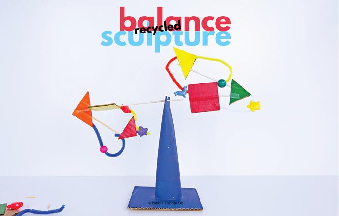 Recycled Balance Sculpture