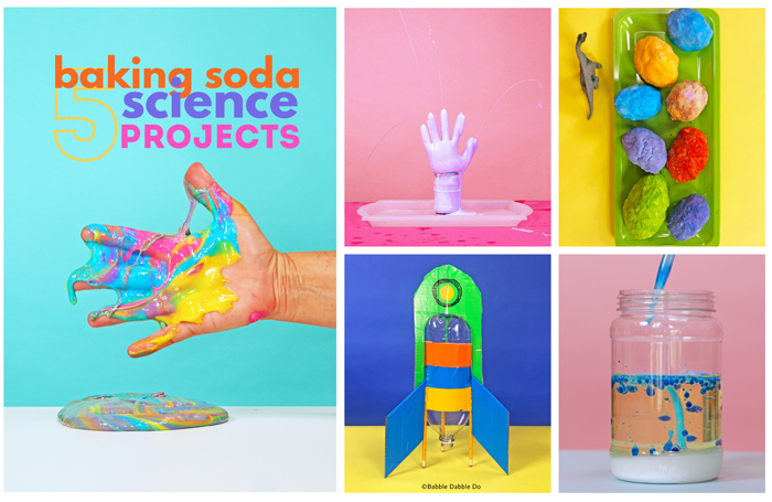 These easy baking soda science projects are sure to delight kids! See the videos, watch the reactions, and try them at home.
