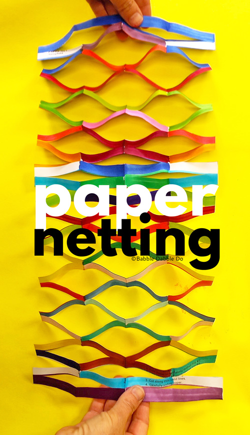 Learn how to make paper net out of 1 sheet of paper