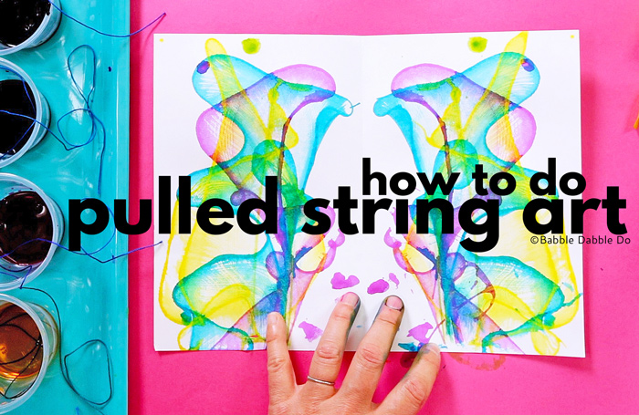 Pulled String Art is one of the coolest classic art projects you'll ever try! And it doubles as a wonderful math art project for kids.