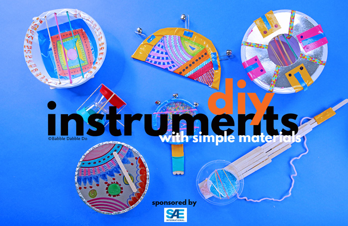 How to Make a DIY Instrument with Simple Materials + Sound Science Experiments