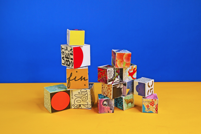 Take magazine collage art into 3 dimensions with our Collage Cube project based on the work of artist Corita Kent.