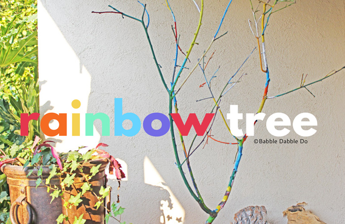 A Simple but Beautiful Tree Branch Craft to Make with Your Kids