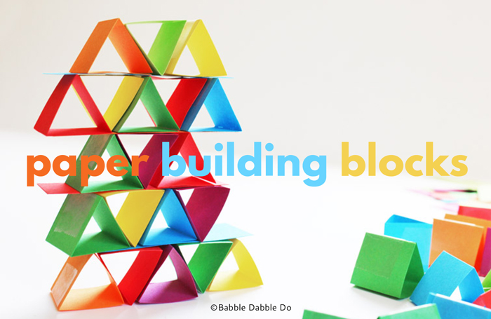 How strong is paper? Find out by making Paper Building Blocks